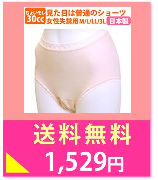 女性用 失禁パンツ